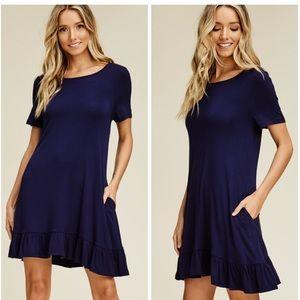 Dresses & Skirts - Just In Ruffle Swing Dress